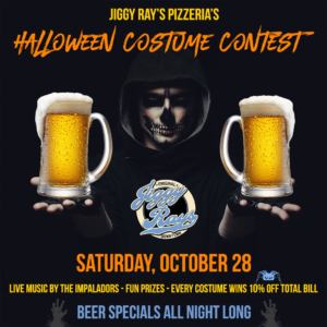 Halloween Costume Party @ Jiggy Ray's PIzzeria | Elizabethton | Tennessee | United States