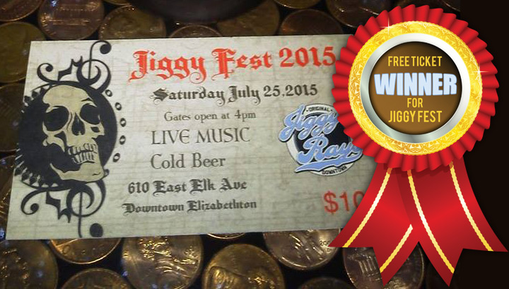 Free Ticket Winners For JiggyFest 2015