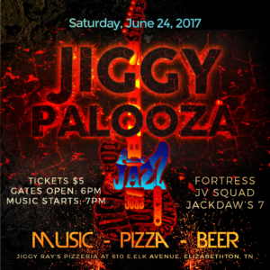 JiggyPalooza - Live, Local Music @ Jiggy Ray's PIzzeria | Elizabethton | Tennessee | United States
