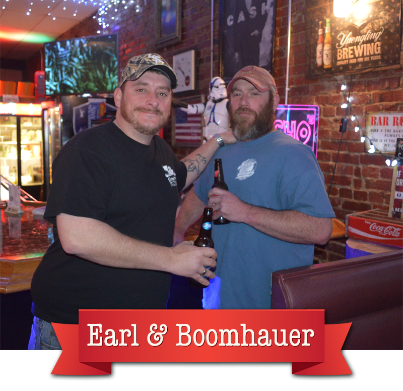 Earl & Boomhauer - Jiggy Ray's regulars