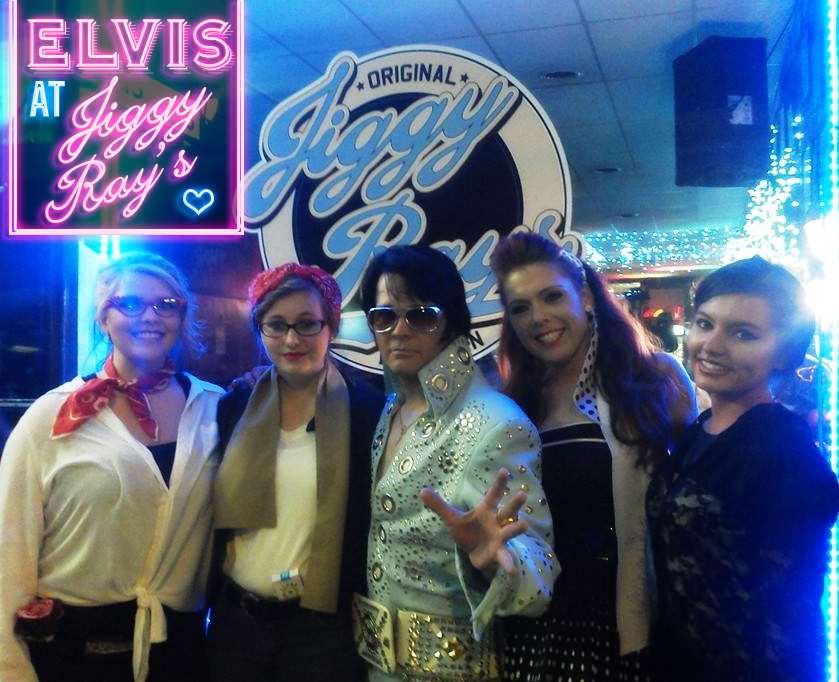 Elvis at Jiggy Ray's!