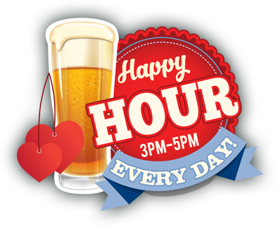 Happy Hour at Jiggy Ray's Pizzeria