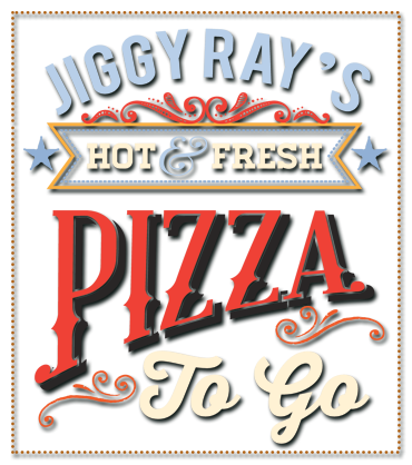 Pizza to Go at Jiggy Rays