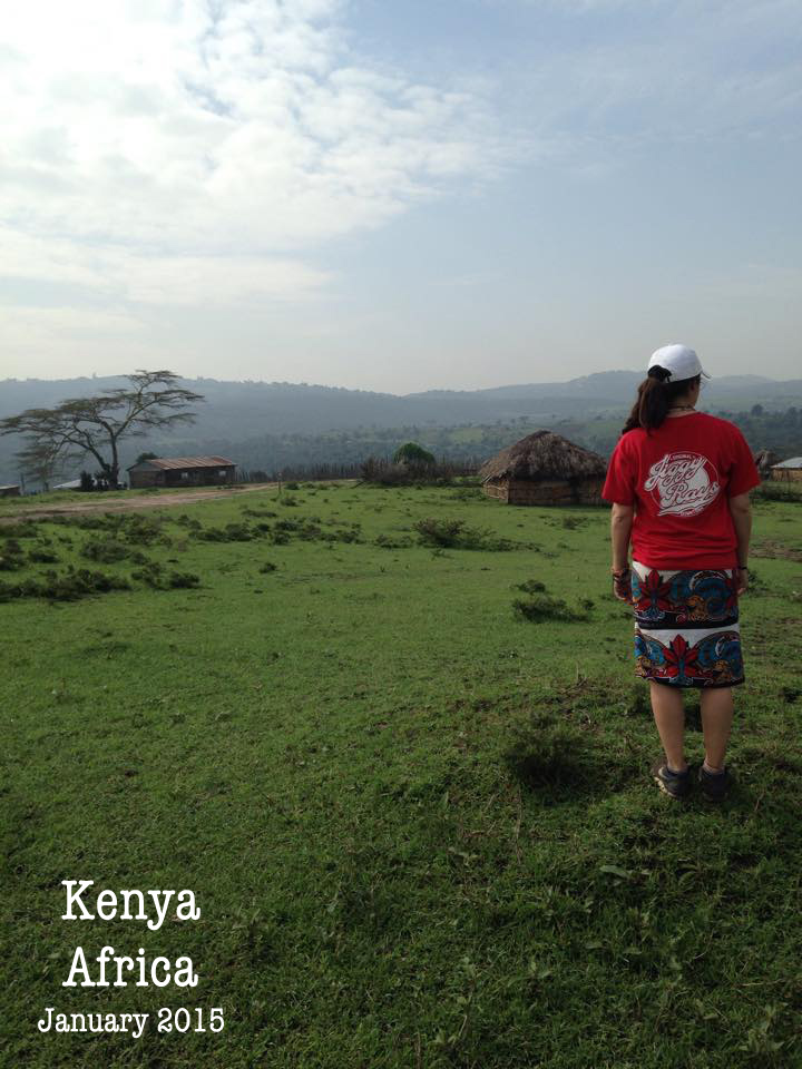 Jiggy Ray's T Shirt in Kenya, Africa