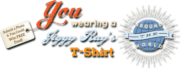 Word Tour for Jiggy Ray's T-shirts