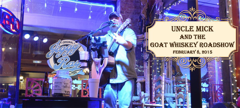 Uncle Mick & Goat Whiskey Roadshow - Live Music